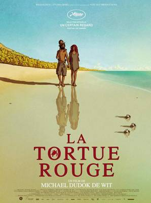 Visuel Tortue Rouge (La) / Red Turtle aru shima no monogatari (レッドタートル ある島の物語) (Films d'animation)