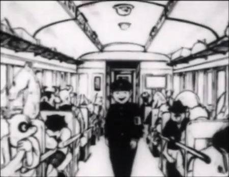 Visuel Train de Tarô (Le) / Tarousan no Kisha (太郎さんの汽車) (Films d'animation)