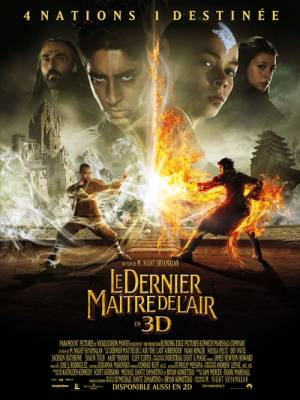 Visuel Dernier Maître de l'Air (Le) / The Last Airbender (Films)