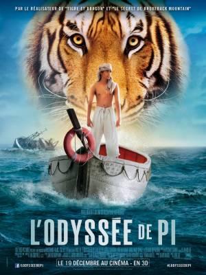 Visuel Odyssée de Pi (L') / Life of Pi (Films)