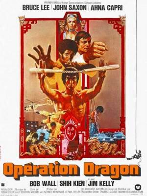 Visuel Opération Dragon / Enter the Dragon (Films)