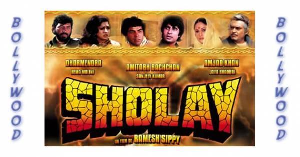 Visuel Sholay / Sholay (Films)