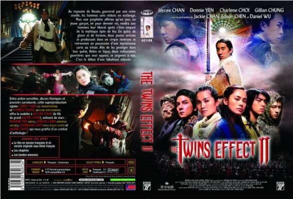 Visuel Twins Effect II (The) / Fa dou daai jin / The Huadu Chronicles : Blade of the Rose (Films)