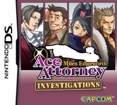 Visuel Ace Attorney Investigations : Miles Edgeworth /  (Jeux vidéo)