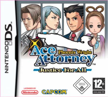 Visuel Phoenix Wright: Ace Attorney - Justice for all /  (Jeux vidéo)