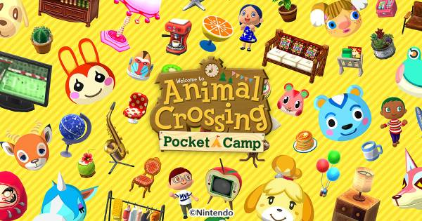 Visuel Animal Crossing : Pocket Camp / Animal Crossing: Pocket Camp (Jeux vidéo)
