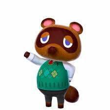 Visuel Tom Nook - Nom original: たぬきち, Tanukichi (Animal Crossing)