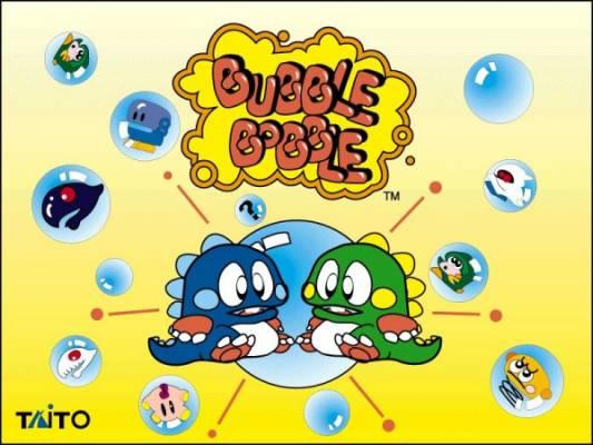 Visuel Bubble Bobble / Bubble Bobble (バブルボブル) (Jeux vidéo)