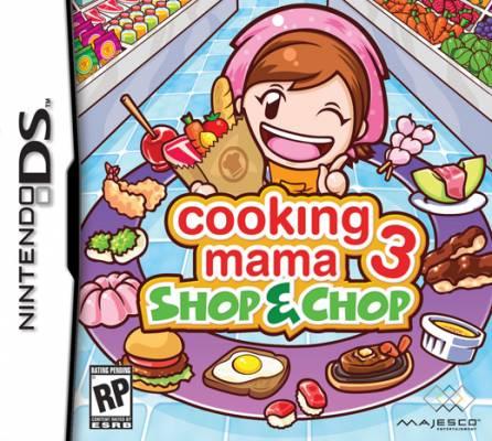 Visuel Cooking Mama 3 /  (Jeux vidéo)