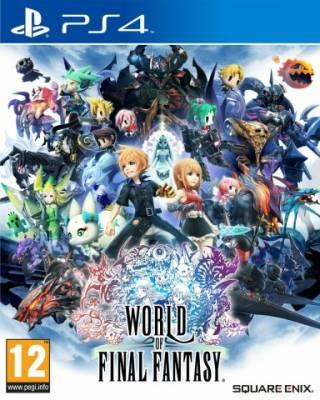 Visuel World of Final Fantasy /  (Jeux vidéo)