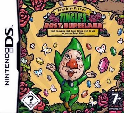 Visuel Freshly-Picked : Tingle's Rosy Rupeeland /  (Jeux vidéo)