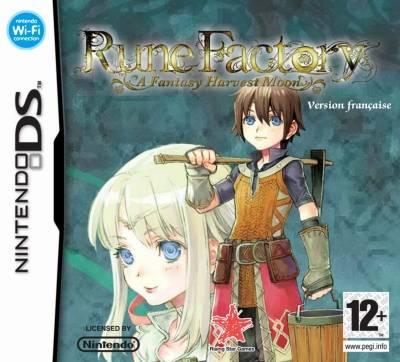 Visuel Rune Factory : A Fantasy Harvest Moon /  (Jeux vidéo)
