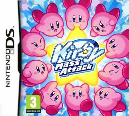 Visuel Kirby Mass Attack /  (Jeux vidéo)