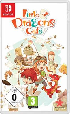 Visuel Little Dragons Café / Little Dragon Café - himitsu no ryū to fushigina shima (リトルドラゴンズカフェ -ひみつの竜とふしぎな島) (Jeux vidéo)