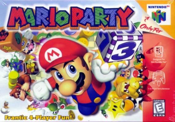 Visuel Mario Party /  (Jeux vidéo)