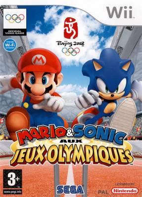 Visuel Mario et Sonic aux Jeux Olympiques /  (Jeux vidéo)