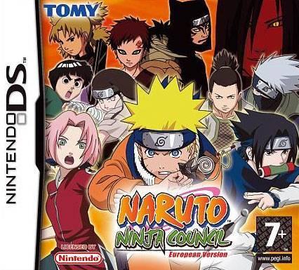 Visuel Naruto Ninja Council European Version /  (Jeux vidéo)