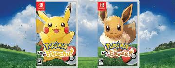 Visuel Pokémon Let's Go Pikachu / Evoli / Poketto Monsutā Rettsugō! Pikachū & Rettsugō! Ībui (Jeux vidéo)