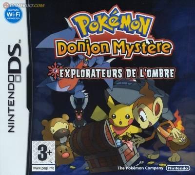 Visuel Pokémon Donjon Mystère 2 - Explorateurs de l'ombre /  (Jeux vidéo)