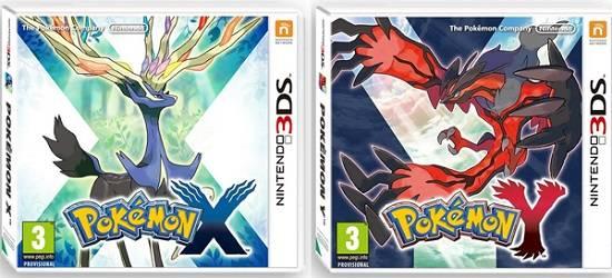 Visuel Pokémon versions X et Y /  (Jeux vidéo)
