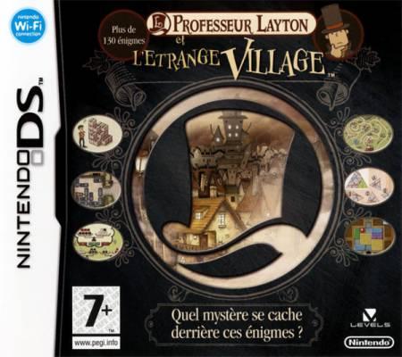 Visuel Professeur Layton et l'Etrange Village /  (Jeux vidéo)