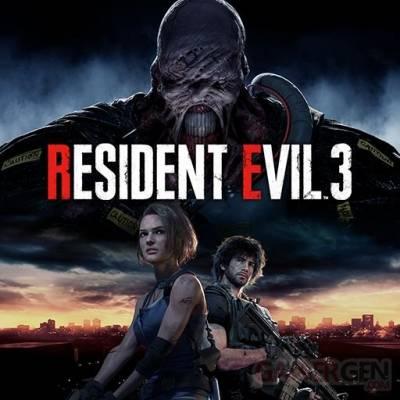 Visuel Resident Evil 3 Remake / BIOHAZARD RE:3 (バイオハザード RE3) (Jeux vidéo)