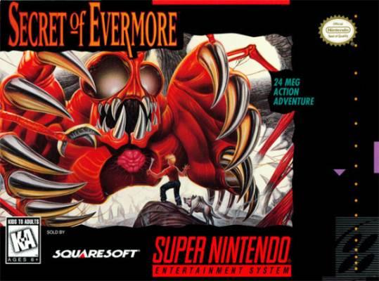 Visuel Secret of Evermore /  (Jeux vidéo)