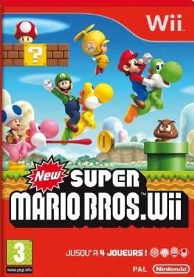 Visuel Super Mario Bros. Wii /  (Jeux vidéo)