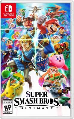 Visuel Super Smash Bros. Ultimate / Dai rantō Smash Bros. SPECIAL (大乱闘スマッシュブラザーズ SPECIAL) (Jeux vidéo)