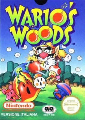 Visuel Wario's Woods / ワリオの森, Wario no mori (Jeux vidéo)