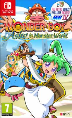 Visuel Wonder Boy : Asha in Monster World / Wonder Boy – Asha in Monster World (ワンダーボーイ アーシャ・イン・モンスターワールド) (Jeux vidéo)