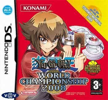 Visuel Yu-Gi-Oh! World Championship 2008 /  (Jeux vidéo)