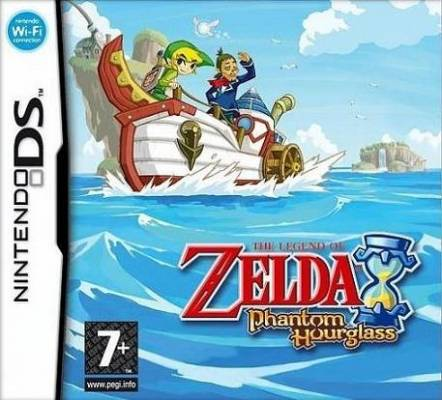 Visuel Zelda (The Legend of) : Phantom Hourglass /  (Jeux vidéo)