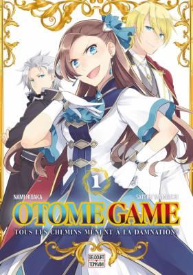 Visuel Otome Game – Tous les chemins mènent à la damnation! / Otome Game no Hametsu Flag shika nai Akuyaku Reijou ni Tensei shite shimatta…( 乙女ゲームの破滅フラグしかない悪役令嬢に転生してしまった…) (Josei)