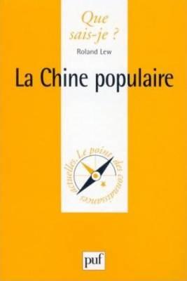 Visuel Chine Populaire (La) /  (Littérature)