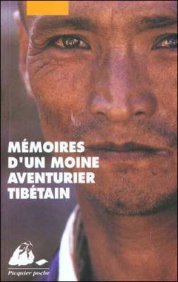 Visuel Mémoires d'un moine aventurier tibétain / Adventures of a tibetan fighting monk (Littérature)