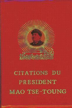 Visuel Citations du président Mao Tsé-toung / Mao Zhuxí Yulu (Littérature)