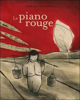 Visuel Piano Rouge (Le) /  (Littérature)