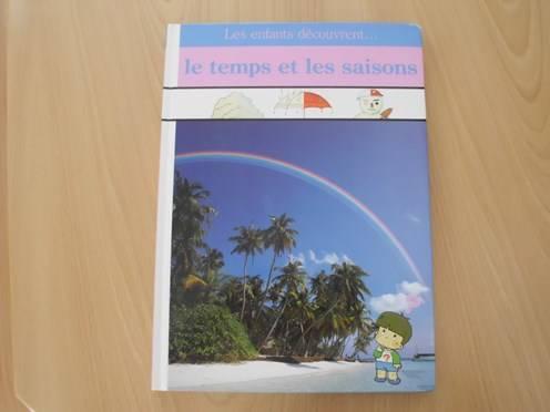 Visuel Enfants découvrent... le temps et les saisons (les) / Nature (Livres d'art)