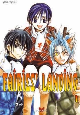 Visuel Fairies' landing / Fairies' landing (Manhwa)