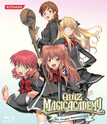 Visuel Quiz Magic Academy ~ The original animation / Quiz Magic Academy ~ The original animation (OAV)