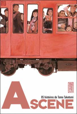 Visuel A Scene - 5 histoires de Tomo Taketomi / A scene - B scene Tanpenshu (Seinen)