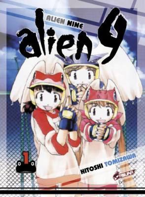 Visuel Alien 9 / Alien 9 (Seinen)