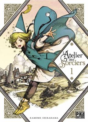 Visuel Atelier des Sorciers (l') / Tongari Bôshi no Atelier (とんがり帽子のアトリエ ) (Seinen)