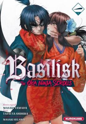 Visuel Basilisk : the Ôka ninja scrolls / Basilisk: Ouka Ninpouchou (バジリスク ~桜花忍法帖~) (Seinen)