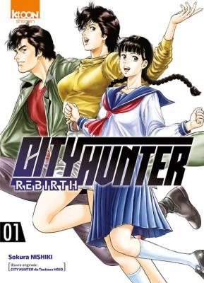Visuel City Hunter Rebirth / Kyou Kara City Hunter (今日から CITY HUNTER) (Seinen)