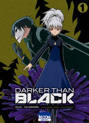 Visuel Darker Than Black / Darker Than Black - Shikkoku no Hana (Seinen)