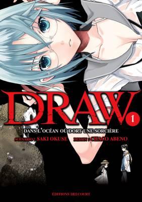 Visuel Draw - Dans l'océan où dort une sorcière / Draw - Majo no Nemuru Umi de (DRAW 魔女の眠る海で) - I Fell in Love with Two Witches (Seinen)