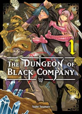 Visuel Dungeon of the Black Company (The) / Meikyuu Black Company (迷宮ブラックカンパニー) - The Dungeon of the Black Company (Shōnen)