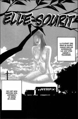 Visuel Elle sourit / Kanojo wa warau (彼女は笑う) (Seinen)